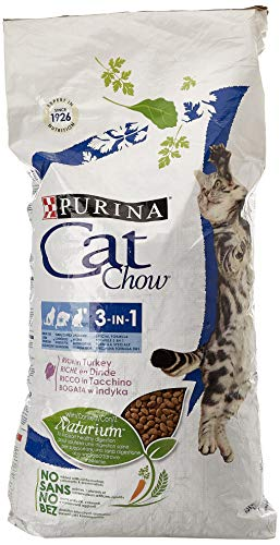 Purina Cat Chow 3en1 Gato Adulto Buey 15 Kg
