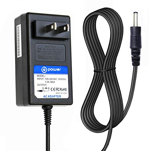 T-Power (6.6ft Long Cable) AC,DC Compatible with 12V Global Actiontec AD-1260 AD-1260G MT12-Y120100-A1 332-10190-01 AC DC Replacement Charger Power AC Adapter Cord
