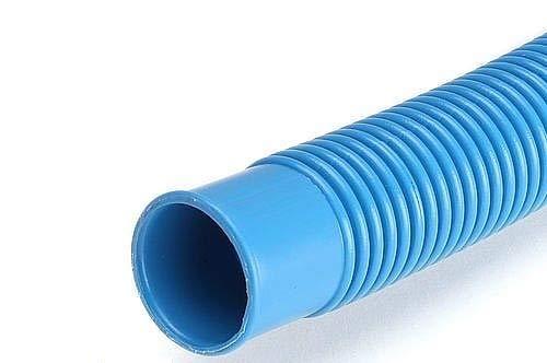 "Quarzflex® 3 Meter 32mm 1 1/4"" Poolschlauch Schwimmbadschlauch blau Made in Germany"