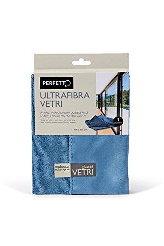 Perfecte ultrafibra autoruiten, microvezeldoek, stof, Avio/poeder, 40 x 40 x 0,5 cm