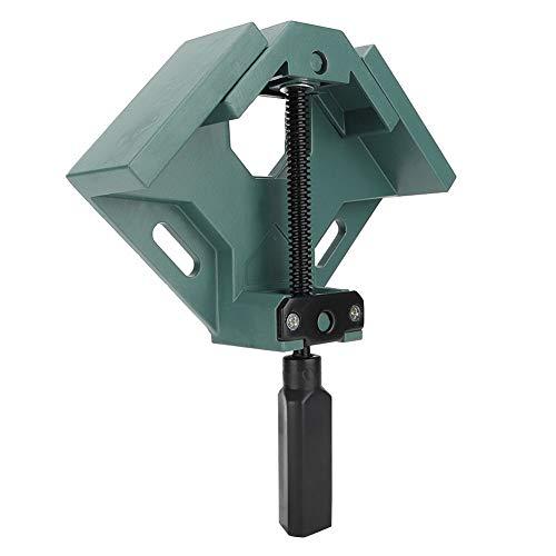 Abrazadera de ángulo recto, hecha de aleación de aluminio antideslizante mango ergonómico grado abrazadera de esquina