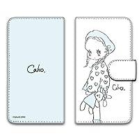 WHITENUTS Caho Xiaomi Mi 10 lite 5G XIG01 ケース 手帳型 UVプリント手帳 ぬいぐるみと少女B (ch-007) TC-C1439245/LL