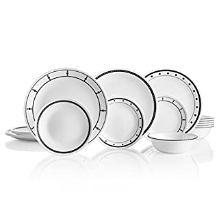 Corelle 18-Piece Chip Resistant Classic Collection Dinnerware Set, Service for 6 (B088C21T1L) | Amazon price tracker / tracking, Amazon price history charts, Amazon price watches, Amazon price drop alerts