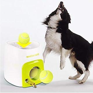 Dog Interactive Toys Training Automatic Dog Feeder Food Reward Tennis Ball Launcher