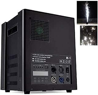 CHENGL 400W máquina fría Chispa de Fuegos Artificiales para conciertos Etapa, Efecto de Etapa de la máquina de Chispa, Fuegos Artificiales simulador Efecto Coldburn chispas, DMX-512 / Control Remoto,