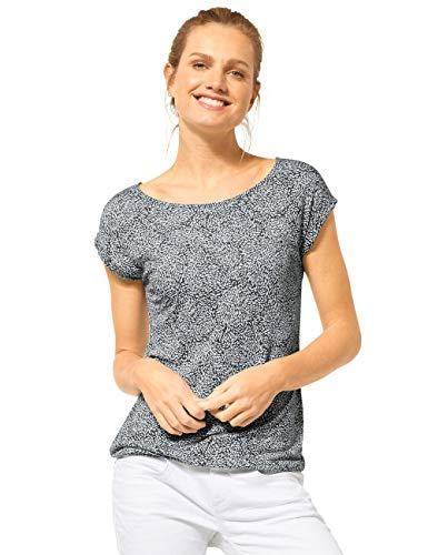 Street One Damen 314872 T-Shirt, Comfort Green, 42