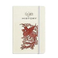 中国の不死鳥の動物の肖像画 歴史ノートクラシックジャーナル日記A 5