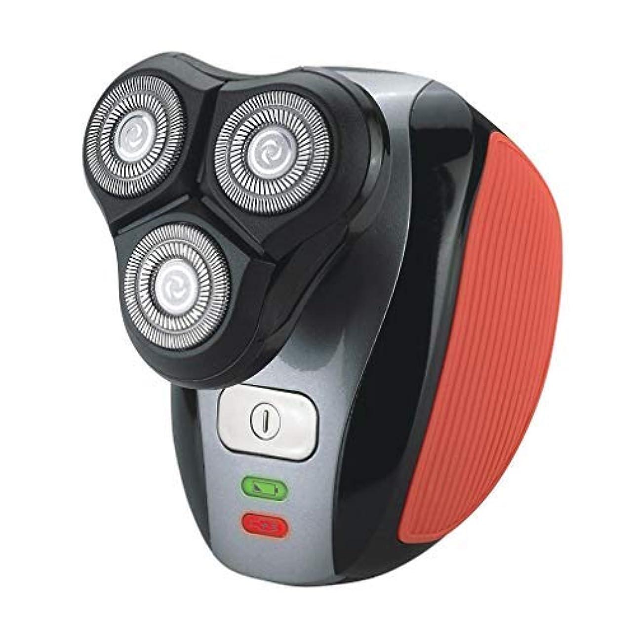 先駆者ステープルハリケーンスマートシェーバー用のUSB充電式で電気メンズシェーバーノーズビアード眉毛トリマーカミソリセルフトリマー