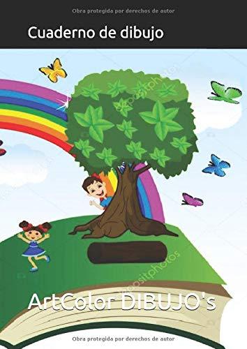 Cuaderno de dibujo: para niños 119 paginas tamaño a4 block de hojas