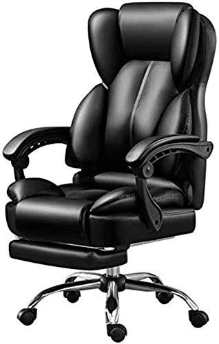 SJZLMB Sedia Scrivania in Pelle Gaming Sedia, Sedia da Ufficio, Reclining Gaming Chair PC Computer Corsa Sedia, Girevole del Computer Sedia Poggiatesta
