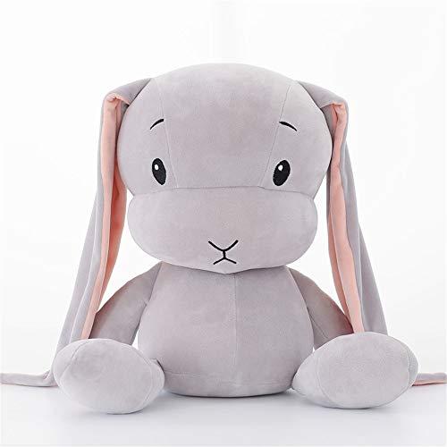 YGMDSL Weiches Spielzeug Spielzeug Das Kaninchen Süß Puppe Mit Schlafen Geschenk,Gray,L