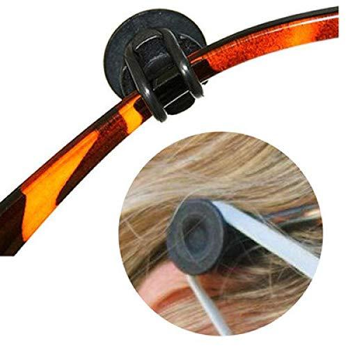 wgkgh Protectores auditivos portátiles Flexibles y Ajustables, los Accesorios para monturas de Gafas Pueden prevenir el Dolor de oído (3 Pares)