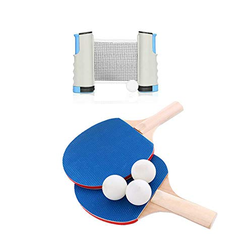 Fantastic Prices! 3 Professional Table Tennis Sports Training Set Racket Mesh Table Tennis Student S...