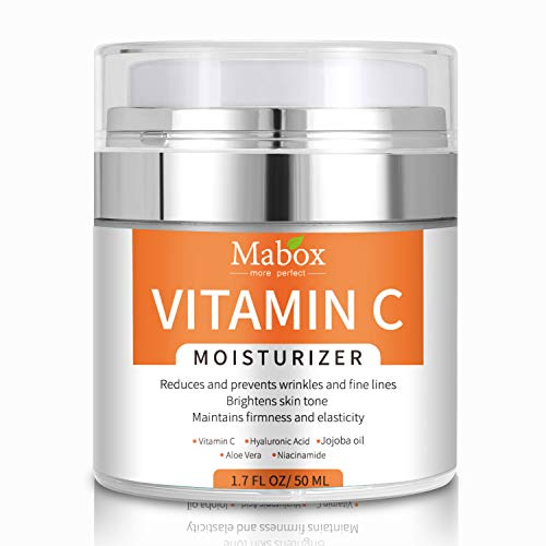 Rantoloys Vitamin C Moisturizer Anti Aging & Wrinkle Cream for Moisturizing Face & Body Skin Care Face Cream with Vitamin E Hyaluronic Acid Niacinamide & Jojoba Oil for Men & Women