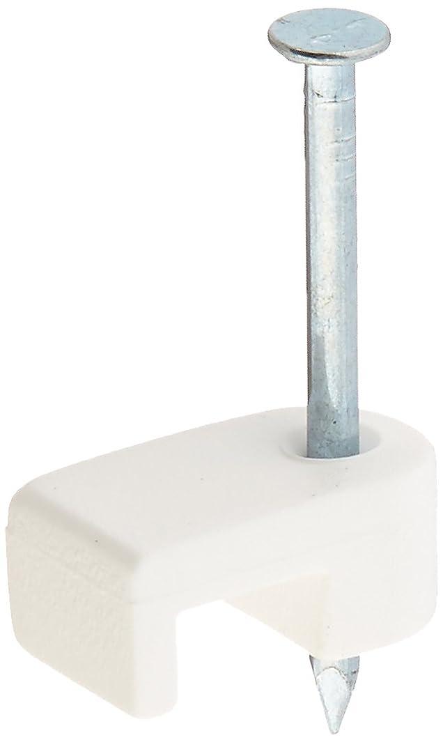 Gardner Bender PMW-100 Wire Staple, 3/16-Inch, White, 100-Pack
