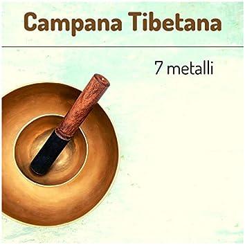Campana tibetana 7 metalli - musica rilassante di meditazione