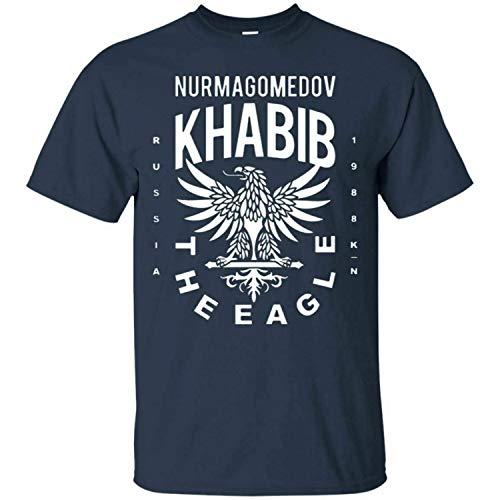 Khabib Eagle T-Shirt Khabib Nurmagomedov MMA UFC Men's tee Shirt Short Sleeve
