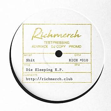 Die Sleeping EP