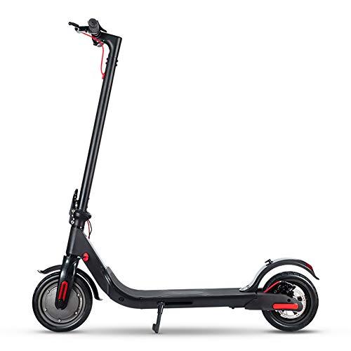 maosen Scooters eléctricos, Scooters, Scooters Plegables para Adultos, conducción de 8.5 Pulgadas y portátiles