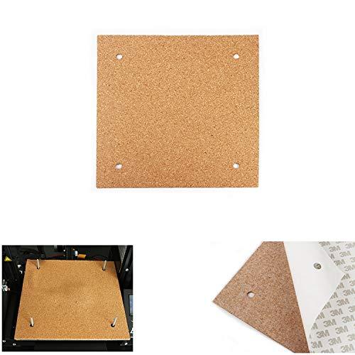 ILS - 310 * 310 * 3 mm Beheizte Bett Hotbed Thermal Heizkissen Isolierung Baumwolle Für CR-10 3D-Drucker