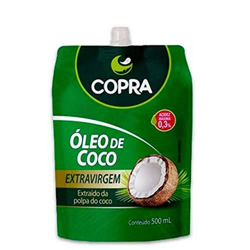 Óleo de Coco Extra Virgem Copra 500ml - Sache