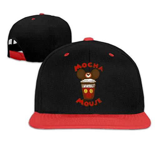 Lsjuee Mocha Mouse Gorra de bisbol de Hip Hop Unisex Popular