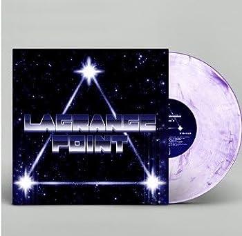 Lagrange Point OST - Clear with purple streaks vinyl