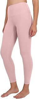 90 Degree By Reflex Ankle Length High Waist Power Flex Leggings - 7/8 Tummy Control Yoga Pants