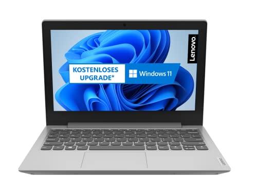 Lenovo IdeaPad 1i 29,5 cm (11,6 Zoll, 1366x768, HD, entspiegelt) Slim Notebook (Intel Celeron N4020, 4GB RAM, 128GB SSD, Intel UHD-Grafik 600, Windows 10 Home S, inkl. Microsoft 365 Single) silber