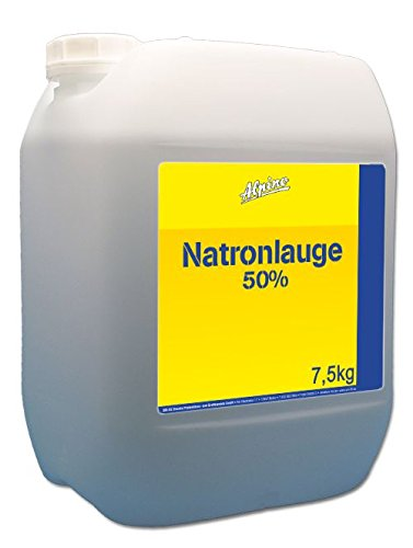 Preisvergleich Produktbild Natronlauge 50% (5 x 1, 5 Kg) 7, 5kg