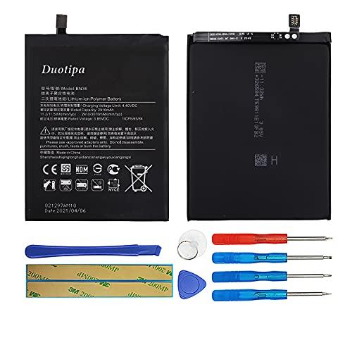 Duotipa Batería de repuesto BN36 compatible con Xiaomi Mi 6X/Mi A2 batería con herramientas