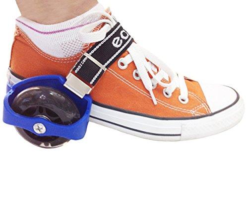 Eazy Rollers Blue Heel Wheels Skates