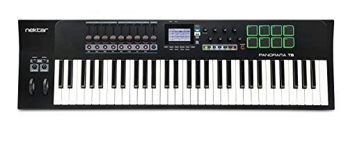 Nektar Panorama T6 USB MIDI Keyboard Controller with Nektar DAW Integration and Nektarine PlugIn Control