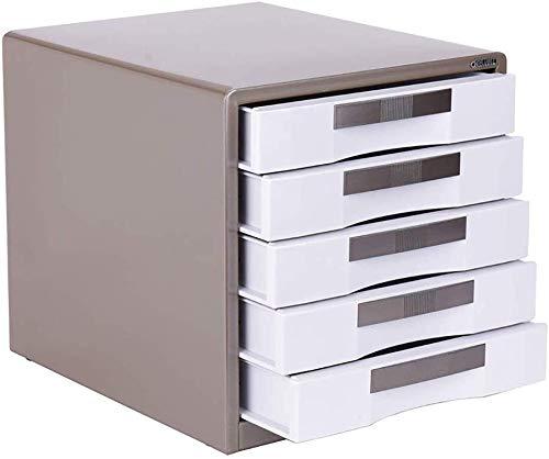 Aktenschrank Datei Confidentialitydesktop Kabinett Speicher mit großer Kapazität Box Management Bild anzeigen Metall Enhance (30X35X30.8CM, 30X35X41CM) 12-30 ( Color : Brown , Size : 300*350*308mm )
