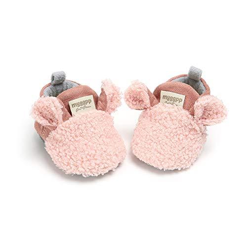Baywell Baby Jungen Mädchen Lauflernschuhe Kleine Schafe rutschfest Schuhe Winter Warm Babyschuhe Krabbelschuhe