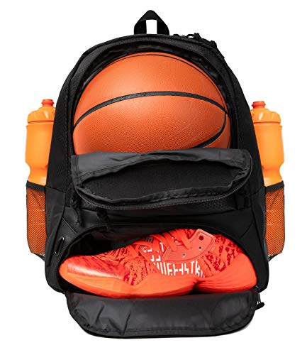 ERANT Basketball Backpack With Ball Compartment  Basketball Bags With Ball Holder  Basketball Bag Backpack  Basketball Bags For Boys  Backpack for Basketball  Basketball Backpacks for Girls