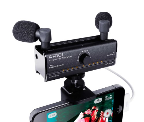 Fostex AR101 USB Powered Audio Interface for iPhone 4/4S/5, DSLR Camera, and PC