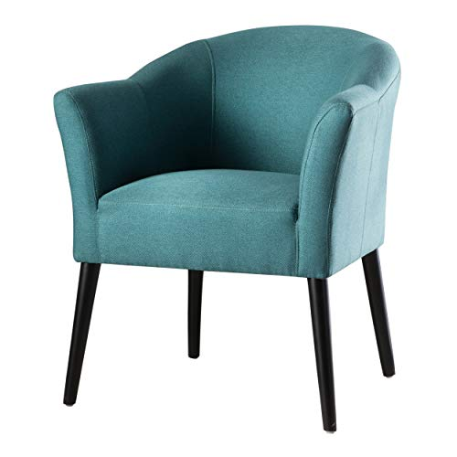 Christopher Knight Home Cosette Fabric Arm Chair, Dark Teal