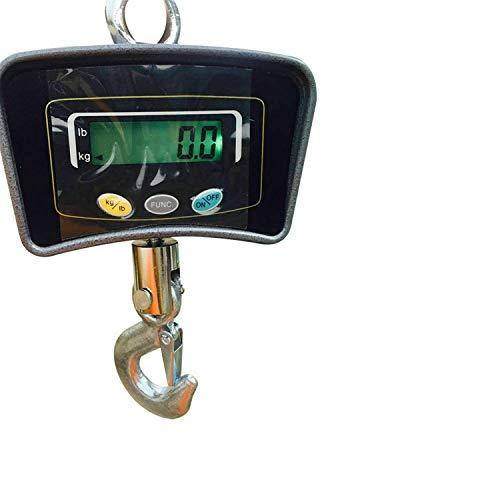 Báscula electrónica de grúa, 500 kg, pesada, industrial,