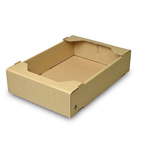 【メーカー直送品のため代引不可】C5サービス 大【L-471】【L-470】 80枚セット (フルーツ用 果物用 野菜用 ギフトボックス ギフト箱 贈答用 箱)