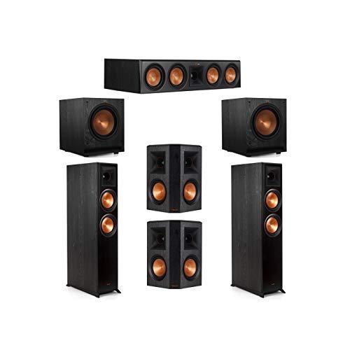 Buy Discount Klipsch 5.2 System with 2 RP-6000F Floorstanding Speakers, 1 Klipsch RP-504C Center Spe...