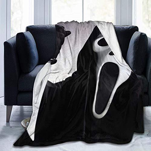 Manta de moda, ideal para sofá, sala de estar, camping o viajes.