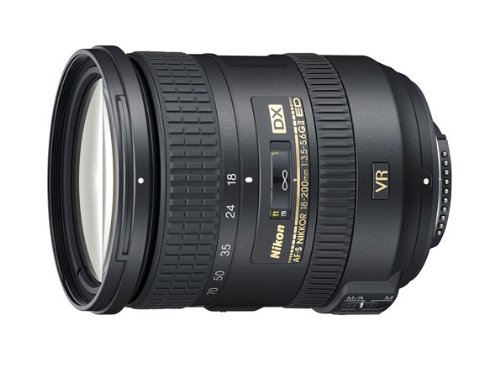 Nikon 18-200mm f/3.5-5.6G AF-S ED VR II Lens for Nikon DX-Format Digital SLR Cameras(New, White box)