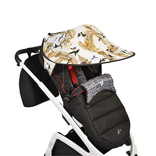 Cangaroo Universele Zonwering voor de kinderwagen Bescherming tegen de zon Wind Stof Vogels