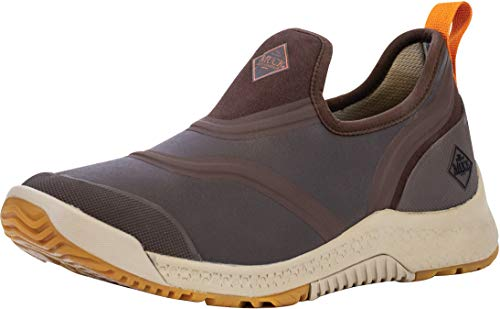 Muck Boot Men's Outscape Low, Brown - 7