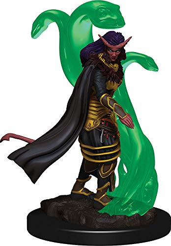 WizKids Dungeons & Dragons Icons of The Realms Premium Figures: Tiefling Female Sorcerer