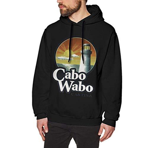 Homme Sweats à Capuche, Sweat-Shirt à Capuche, Cabo Wabo Men's Hoodie Sweatshirt Heavyweight Casual Long Sleeve Tshirt