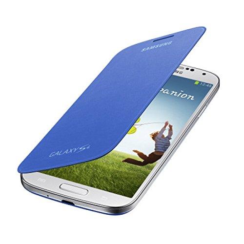 Samsung EF-FI950BCEGWW Flip Cover per Galaxy S4, Azzurro