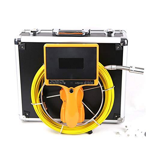HOODIE Pijpleiding Inspectie Camera Afvoer Riool Industriële Endoscoop Waterdichte IP68 Video Systeem 9 Inch LCD Monitor 120° Camera met 20M Kabel