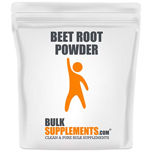 BulkSupplements.com Beet Root Powder - Beet Juice Powder - Natural Pre Workout (500 Grams - 1.1 lbs - 143 Servings)